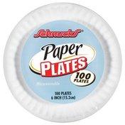 Schnucks Round 6 In. Ea. Paper Plates