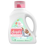Dreft Stage 2: Active Baby Liquid Laundry Detergent