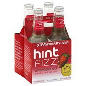 Hint Water, Sparkling, Unsweetened, Strawberry-Kiwi