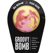 Da Bomb Bath Fizzer, Groovy Bomb, Fun Size