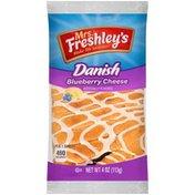 Mrs. Freshley's Blueberry Cheese Mrs. Freshley's Blueberry Cheese Danish
