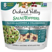 Orchard Valley Harvest® Salad Toppers Sliced Almonds & Cranberries Multi Pack