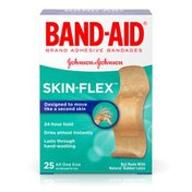 Band-Aid Brand Skin-Flex Adhesive Bandages, All One Size