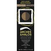 Arches & Halos Brow Powder, Neutral Brown