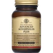 Solgar Acidophilus Plus, Advanced, Vegetable Capsules