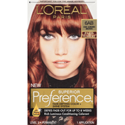 L'Oreal Superior Preference Fade-Defying Color + Shine System 6AB Chic Auburn Brown