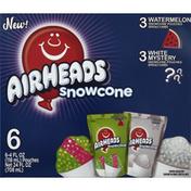 Airheads Snowcone, Watermelon/White Mystery