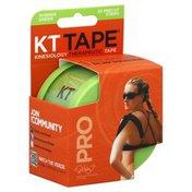KT Tape Sports Tape, Elastic, Pro, Precut Strips, Winner Green