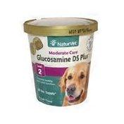 NaturVet Glucosamine DS Moderate Care Plus For Small & Medium Breeds