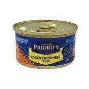 Safeway Priority Chicken Dinner Cat Food