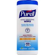 Purell Wipes, Hand Sanitizing, Fresh Citrus Scent