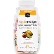 Publix Antacid Calcium Supplement, Regular Strength, Chewable Tablets, Assorted Fruit