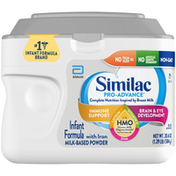 Similac Infant Formula, Milk-Based Powder, with Iron, 0-12 Months
