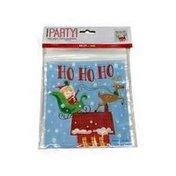Unique Sweets Cookies Biscuits Xmas Children's Christmas Santa Zip Lock Top Treat Bags