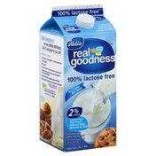 Real Goodness Milk, Reduced Fat, Lactose Free, 2% Milkfat