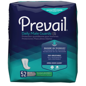 Prevail Incontinence Guards for Men, Maximum Absorbency