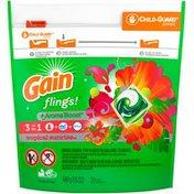 Gain Liquid Laundry Detergent Pacs, Tropical Sunrise