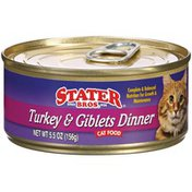 Stater Bros. Markets Turkey & Giblets Dinner Cat Food