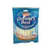 "Hartz 5"" Beef Dentist's Best With Deta Shield Twists for Dogs"