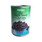 Meijer Dark Sweet Pitted Cherries In Syrup