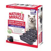 Nature's Miracle NMR300 Self Cleaning Litter Box Waste Receptacles