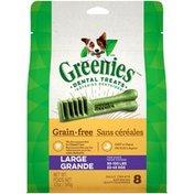 GREENIES Large Grain Free Dental Dog Treats