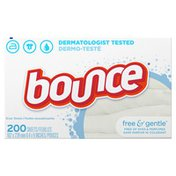 Bounce Free & Gentle Fabric Softener Softener Dryer Sheets