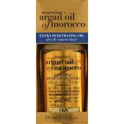 OGX Extra Penetrating Oil, Renewing + Argan Oil of Morocco