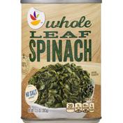 SB Spinach, Whole Leaf