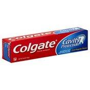Colgate Toothpaste, Fluoride, Regular, Cavity Protection, Box