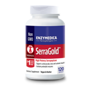 Enzymedica Dietary Suplement, SerraGold, Capsules, Bottle