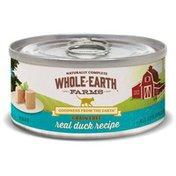 Merrick FL Whole Earth Duck Cat Food Can