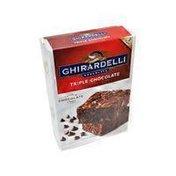Ghirardelli Chocolate Triple Chocolate Brownie