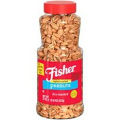 Fisher Lightly Salted Dry Roasted Peanuts