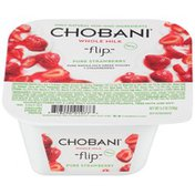 Chobani Flip Pure Strawberry Whole Milk Greek Yogurt