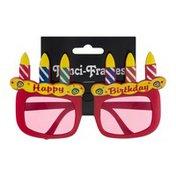Beistle Fanci-Frames Happy Birthday Novelty Glasses