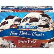 Blue Bunny Blue Ribbon Classics Bunny Tracks Light Ice Cream