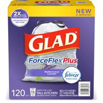 Glad Forceflex Kitchen Pro 20 Gallon Large Kitchen Drawstring Trash Bags With Febreze Freshness 100 Ct Instacart