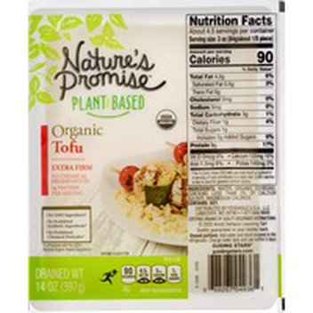 Nature S Promise Organic Firm Tofu 14 Oz Instacart