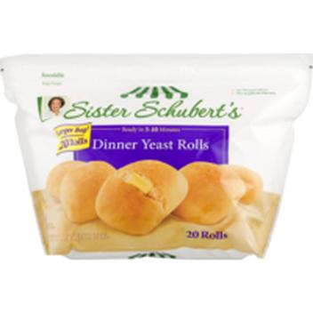 Rhodes Yeast Dinner Frozen Rolls Dough 36 Ct Instacart