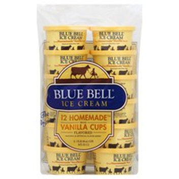 Fabulous Blue Bell Ice Cream Cups Birthday Cake 12 Cups 12 Each Instacart Personalised Birthday Cards Veneteletsinfo