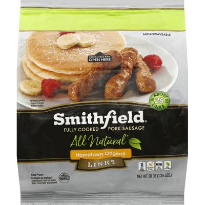 Smithfield Pork Sausage, Links, Hometown Original