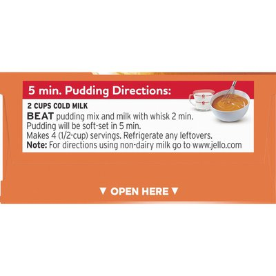 Jell-O Butterscotch Instant Pudding & Pie Filling Mix