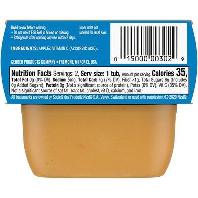 Gerber 1st Foods Apple Baby Food