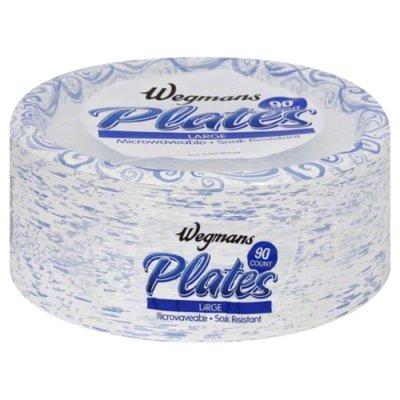 Wegmans Plates, Large, 10.06 Inch