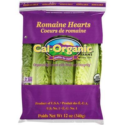 Cal Organic Farms Organic Romaine Lettuce Hearts