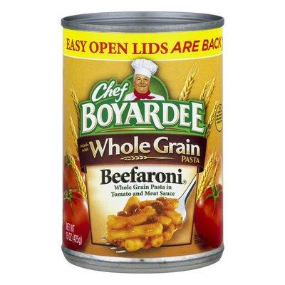Chef Boyardee Whole Grain Beefaroni