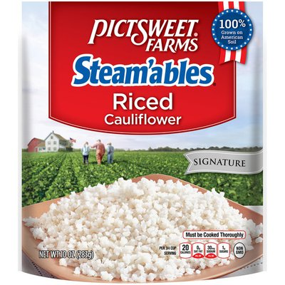 Pictsweet Farms Signature Steam'ables Riced Cauliflower