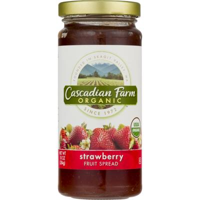 Cascadian Farm Organic Strawberry Fruit Spread