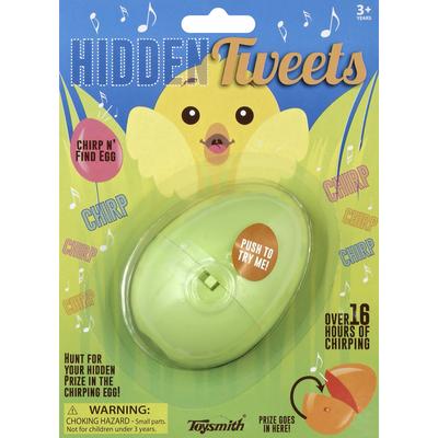 Toysmith Egg, Chirp N' Find, Hidden Tweets